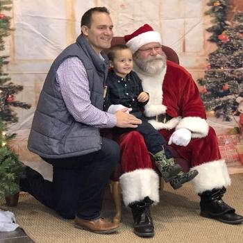 photo of santa event
