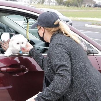 Rachel Tilford and Dog