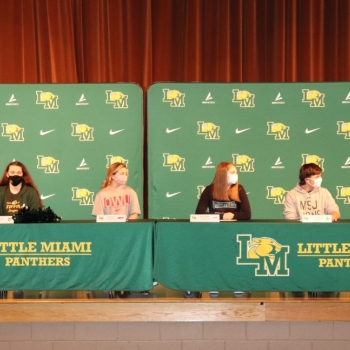 athletes signing National Letters of Intent