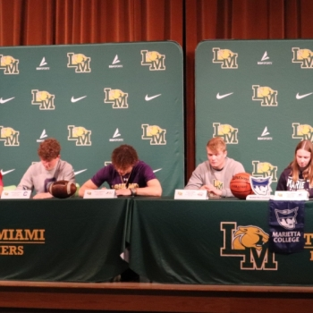 Athletes Sign Letters of Intent