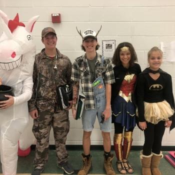 Photo of halloween costumes