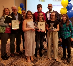 photo of student video winners