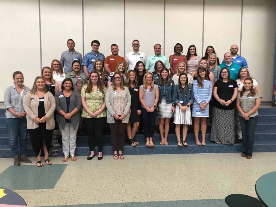 photo of new teachers