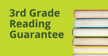 Third grade reading guarantee logo