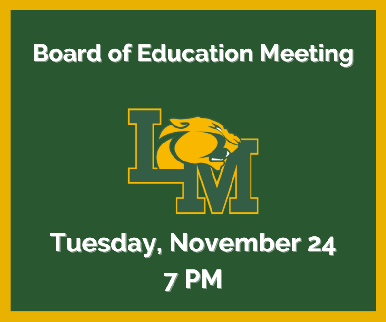 November 24 Board of Education Meeting