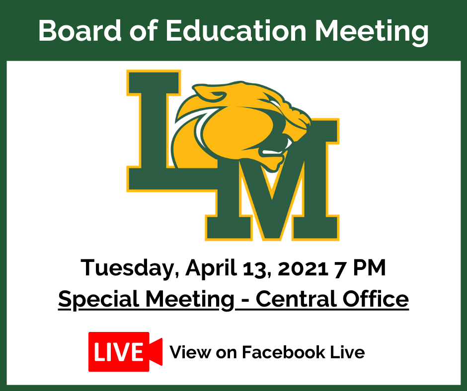 Board of Education Special Meeting Notice