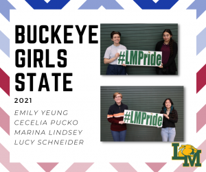 LMHS Juniors Chosen for Buckeye Girls State