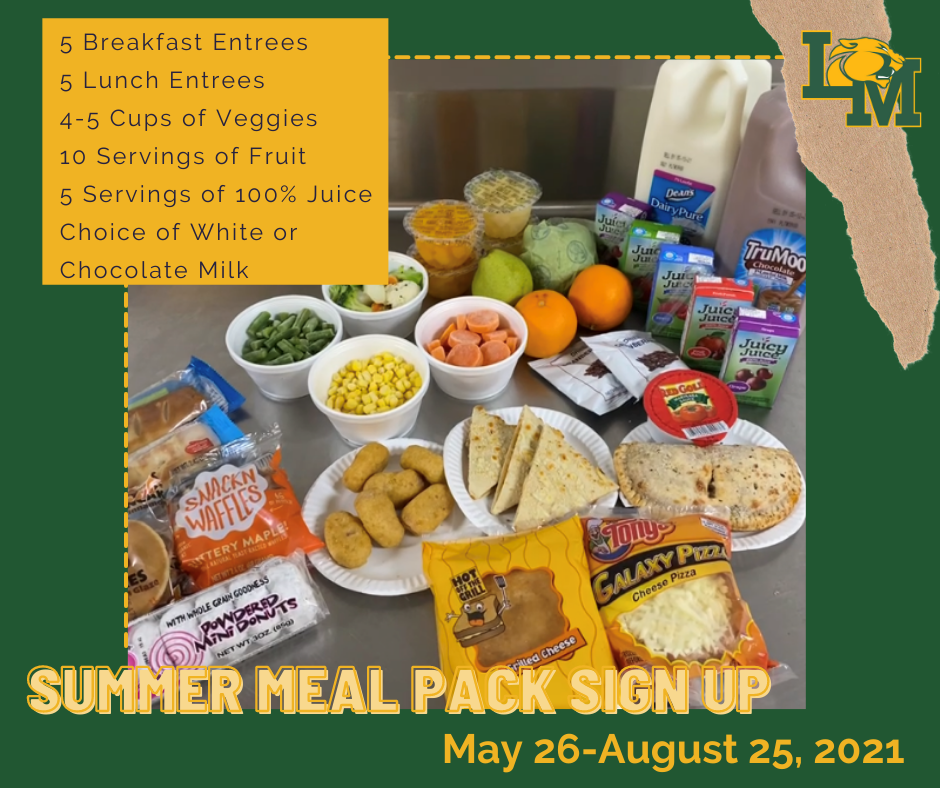 Summer Meal Packs