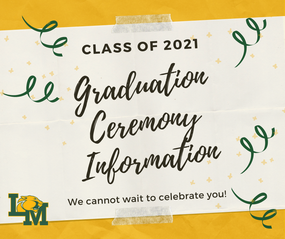 2021 graduation announcement