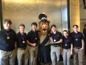 Photo of student winners
