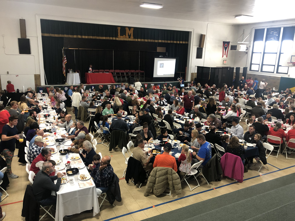 photo of veterans breakfast