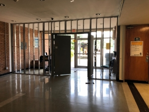 photo of security entrance