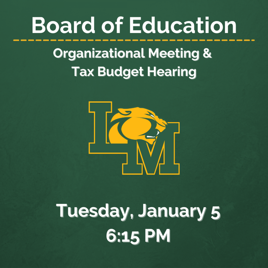 BOE Meeting January 5