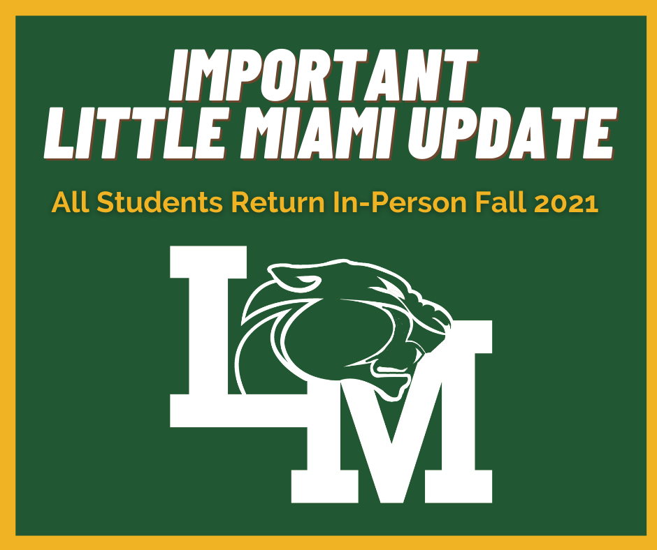Little Miami Important Update