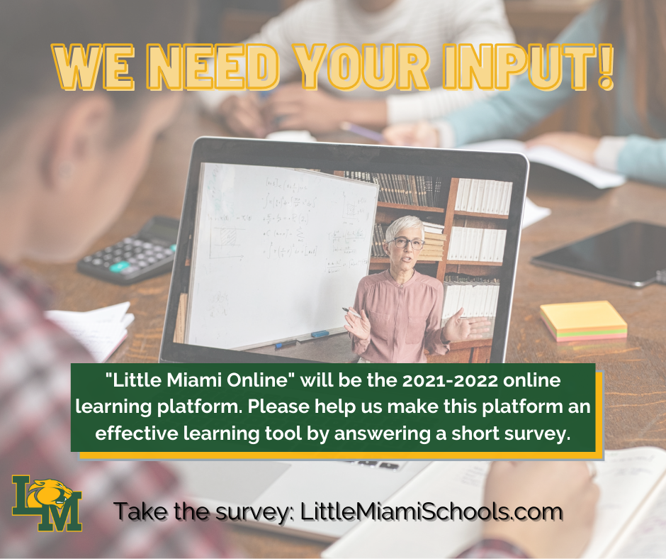 Little Miami Online Survey Input Request