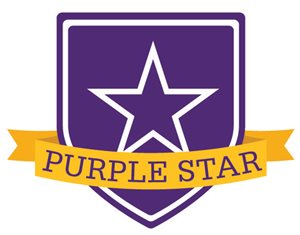 photo of purple star
