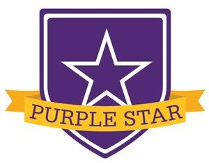 photo of purple star