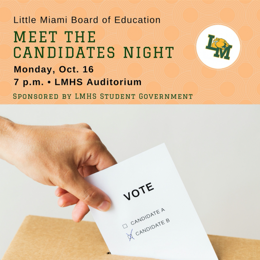 Candidates night logo