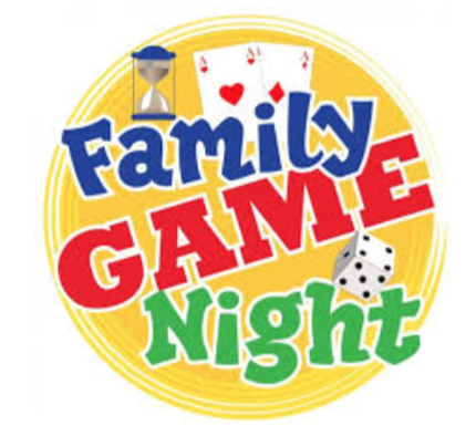 family game night logo