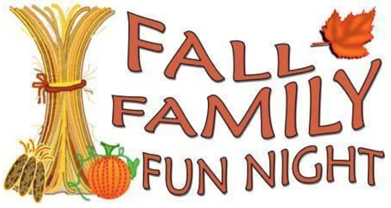 family fun night clip art