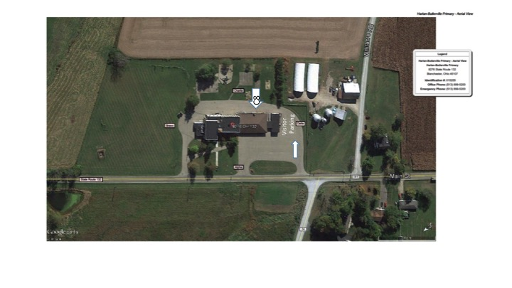 photo of aerial map