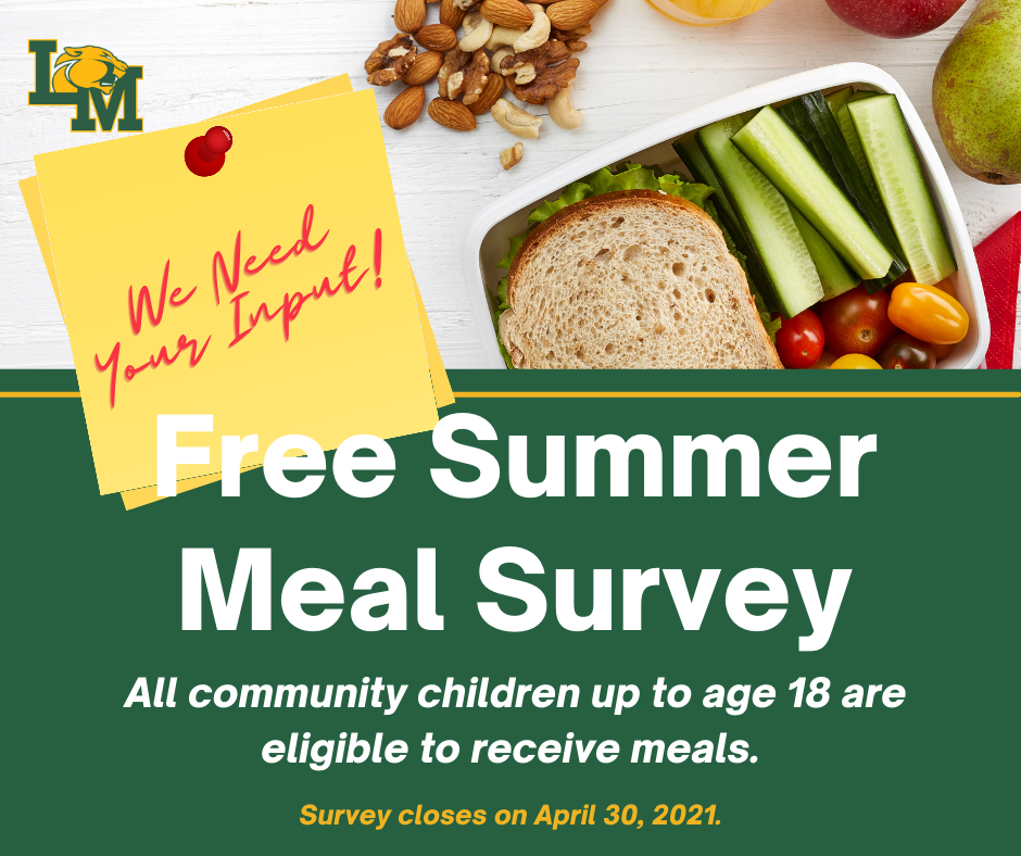Summer Meal Survey