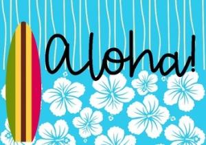 photo of aloha sign