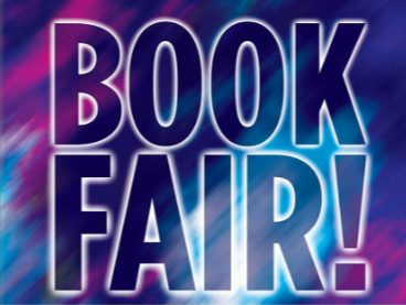 photo of book fair sign