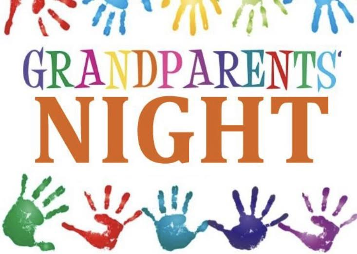 photo of grandparent night logo