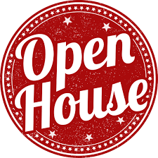 Photo of open house clip art