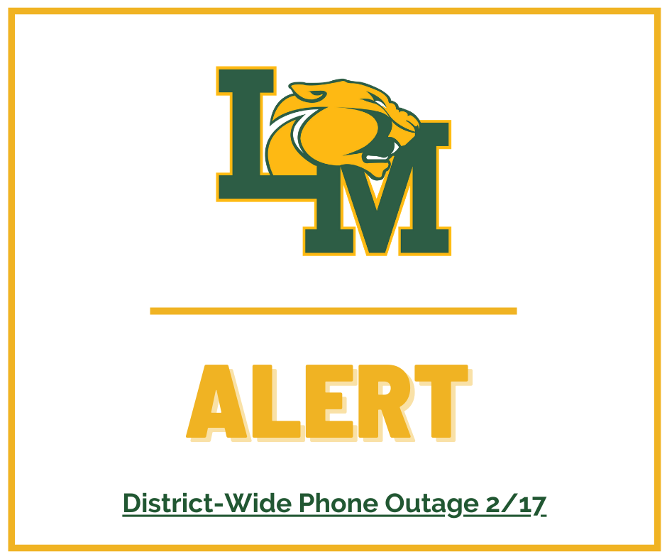 District phone outage alert Feb. 17