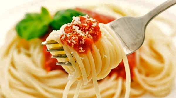 photo of spaghetti