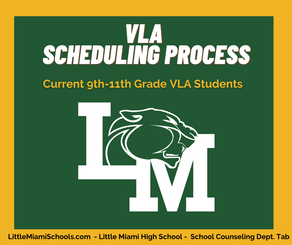 vla scheduling process graphic