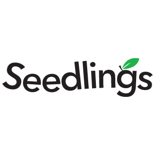 Photo of seedlings logo