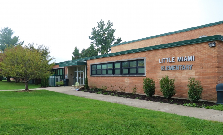 front entrance of little miami elementary